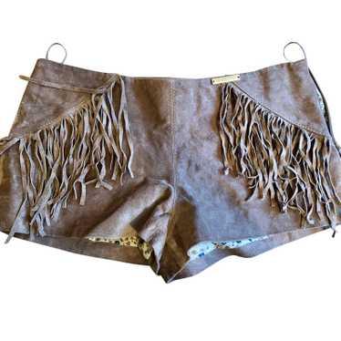 Liu Jo Suede shorts