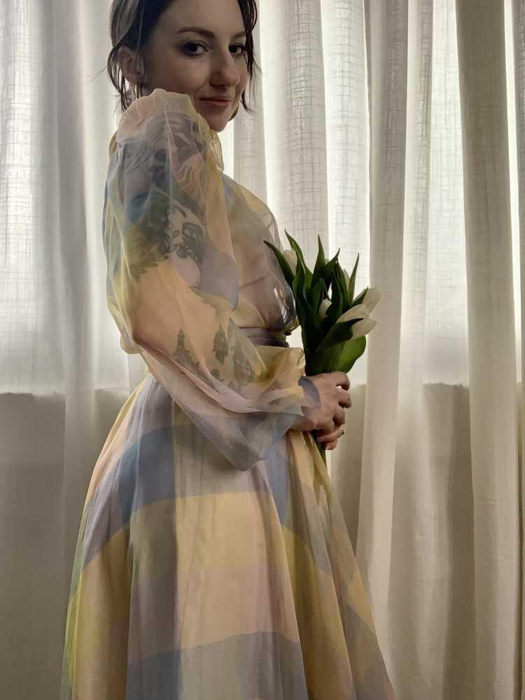 RARE 1940s Ceil Chapman Gown - image 7
