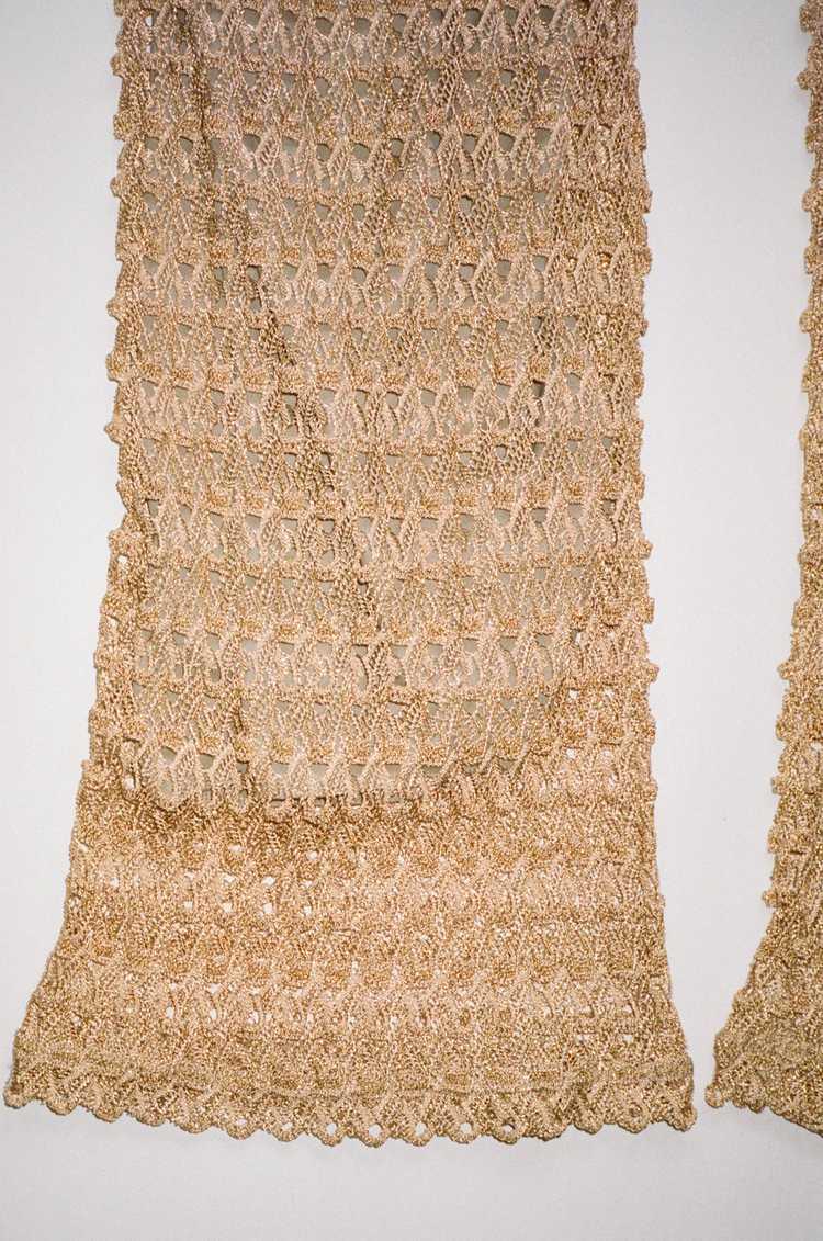 Knit Textured Pants sz M - image 3