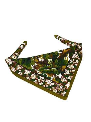 Kenzo Kenzo Floral Handkerchief