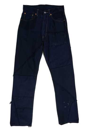 Japanese Brand Scanner Dark Blue Denim Jeans Waist 32 Jogger Leg StyleJapanese Brand Denim JeansJogger Mens Denim Jeans