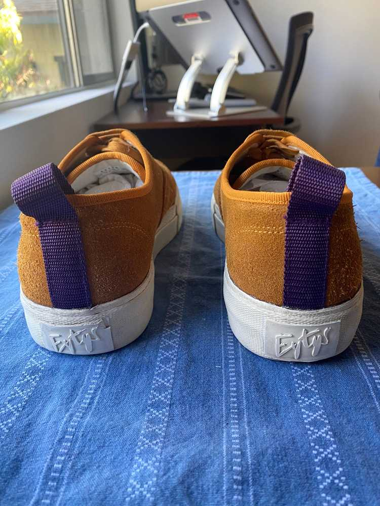 Eytys Eytys Mother Suede Camel Sneakers - image 5