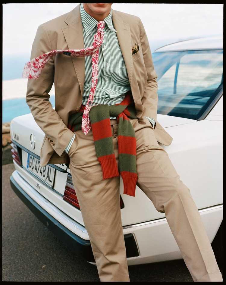 Drakes Drakes Linen Suit - image 2