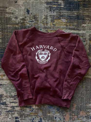 1950's/60's maroon Harvard sweatshirt