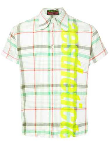 Walter Van Beirendonck Pre-Owned plaid shirt - Mul