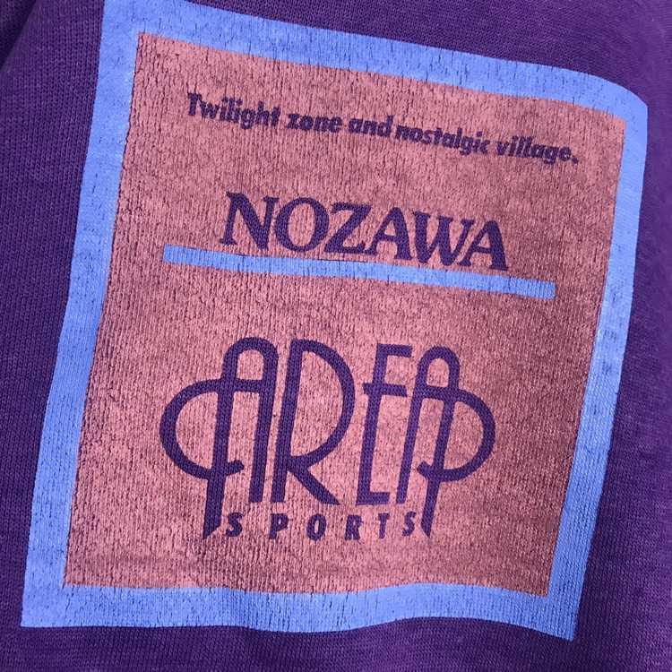 Jerzees × Vintage Vintage 80s nozawa sweatshirt - image 3