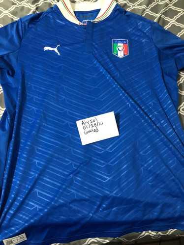 Puma × Soccer Jersey Puma Italy Soccer Jersey