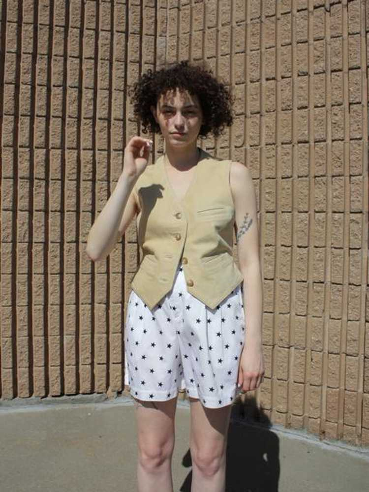 Novelty Print Cotton Shorts - image 5