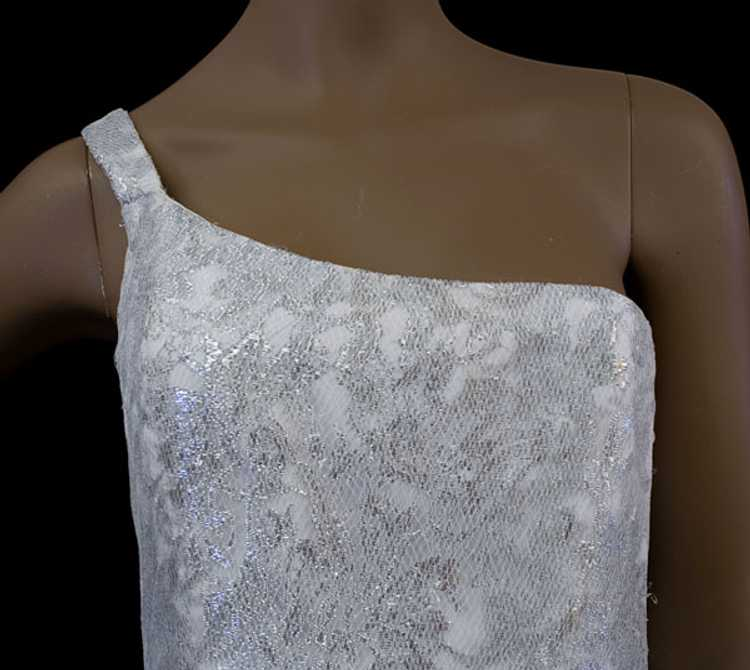 Scaasi Boutique evening dress, late 1980s - image 4
