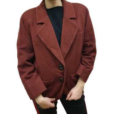 Yves Saint Laurent Jacket/Coat Wool
