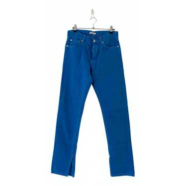 Ganni Blue Cotton Jeans for Women 26 US