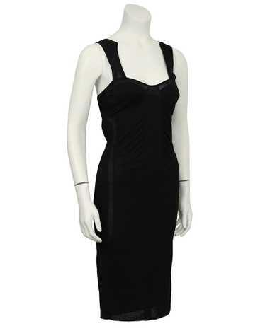 Gucci Black Mesh Dress