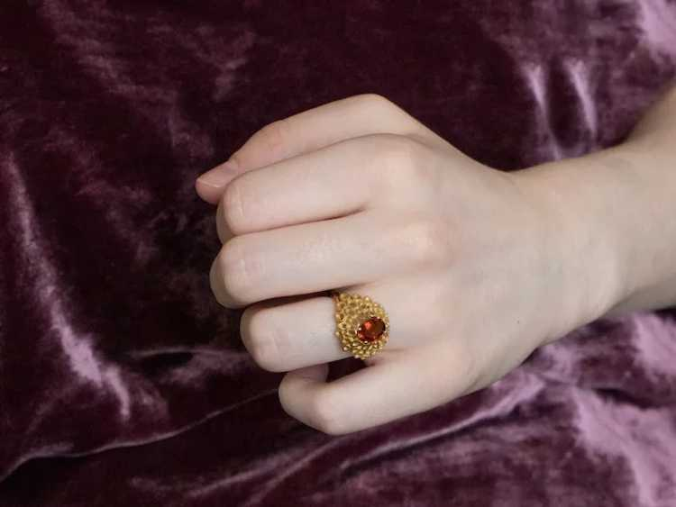 Funky Citrine Statement Ring - image 10