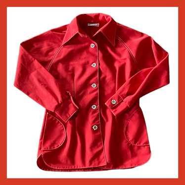 70's Polyester Shirt/Jacket - image 1
