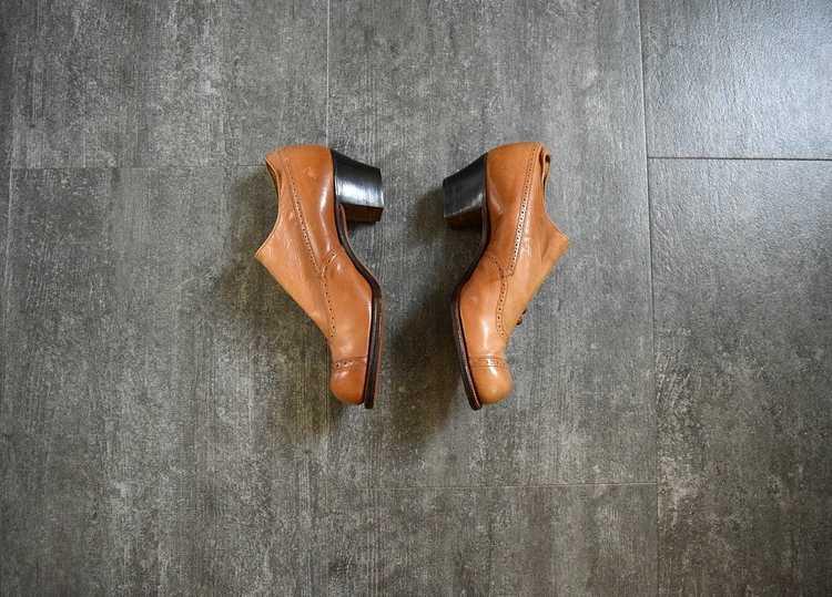 Edwardian shoes . antique leather shoes - image 3