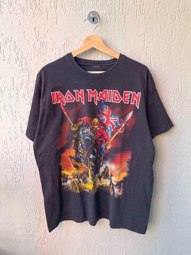 Iron Maiden × Rock T Shirt × Vintage Vintage Iron