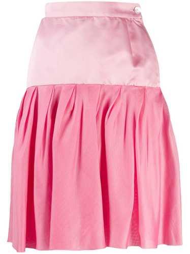 Emanuel Ungaro Pre-Owned 1980's pleated skirt - Pi