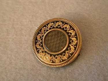 Mourning Brooch - Mourning Jewelry - Georgian Hair