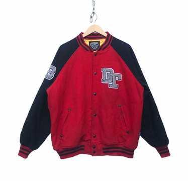 Vintage 90s DOGTOWN jacket full zipper sweater cross design key chain zipper small embroidery logo black dragon dogtown streetwear Medium