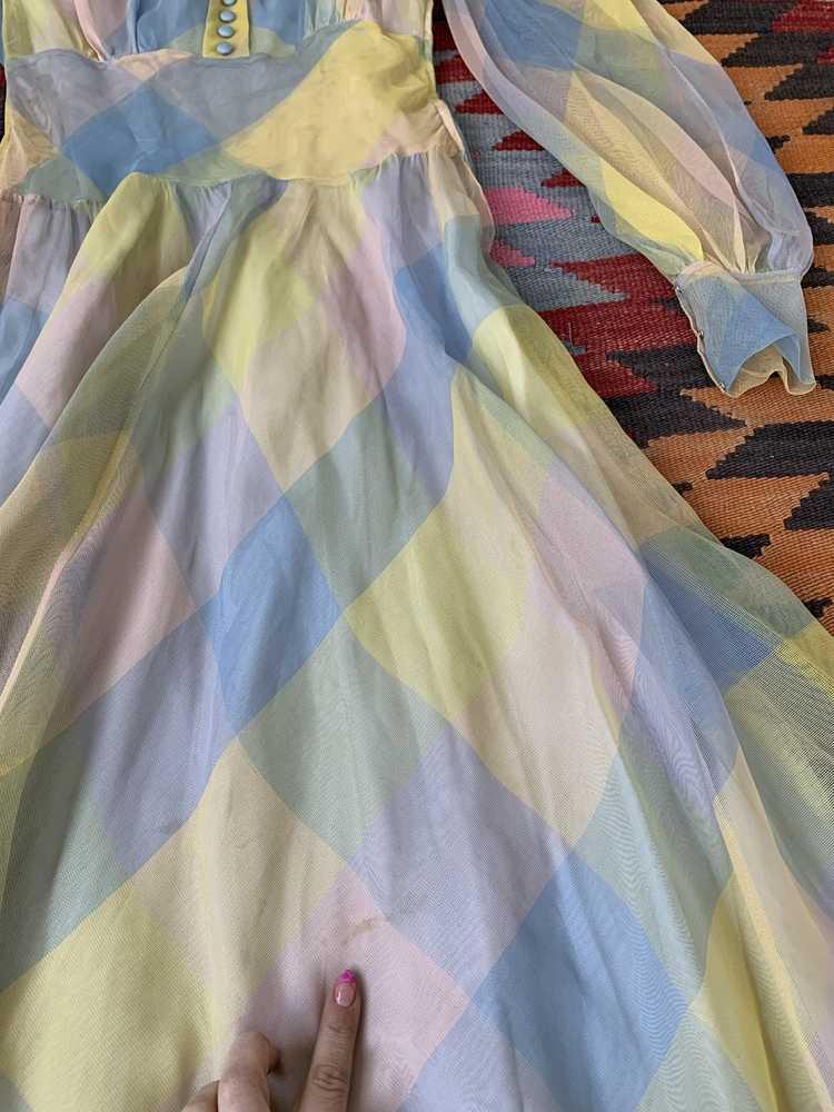 RARE 1940s Ceil Chapman Gown - image 14