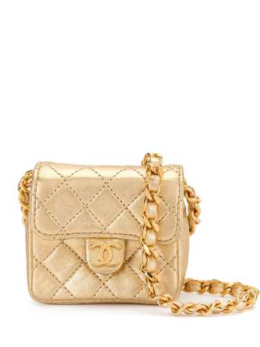 Chanel Pre-Owned 1990s diamond-quilted mini bag -