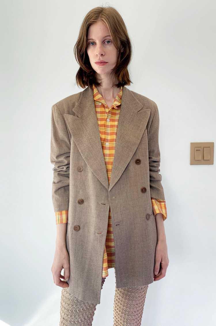 Knit Textured Pants sz M - image 4