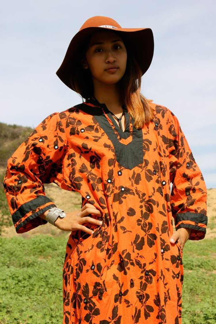 *SALE* Vintage Ramona Rull Maxi Dress - image 2