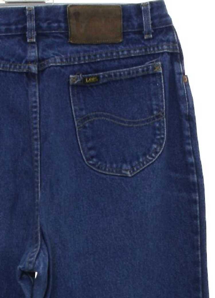 1980's Lee Womens Lee Denim Jeans Pants - image 2