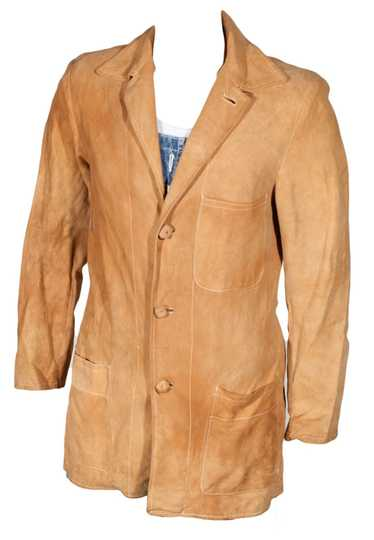 1940s Suede Hollywood Jacket