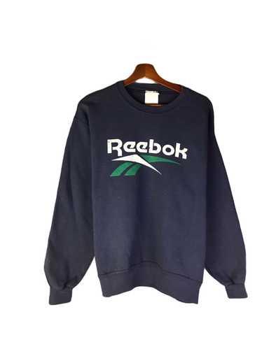 Vintage 90/'s Reebok Sportswear Pullover Sweatshirt Gray Large Reebok Streetwear Jumper Reebok Jumper Crewneck Size L
