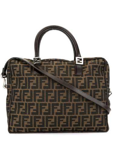 Fendi Pre-Owned Zucca pattern 2-way top-handle bag