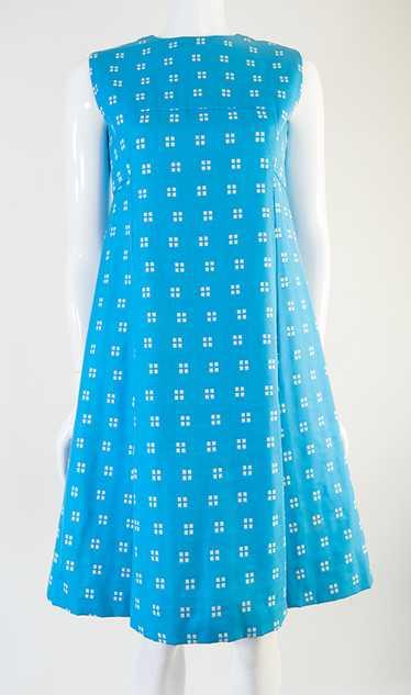 1960s Donald Brooks Mod Dress