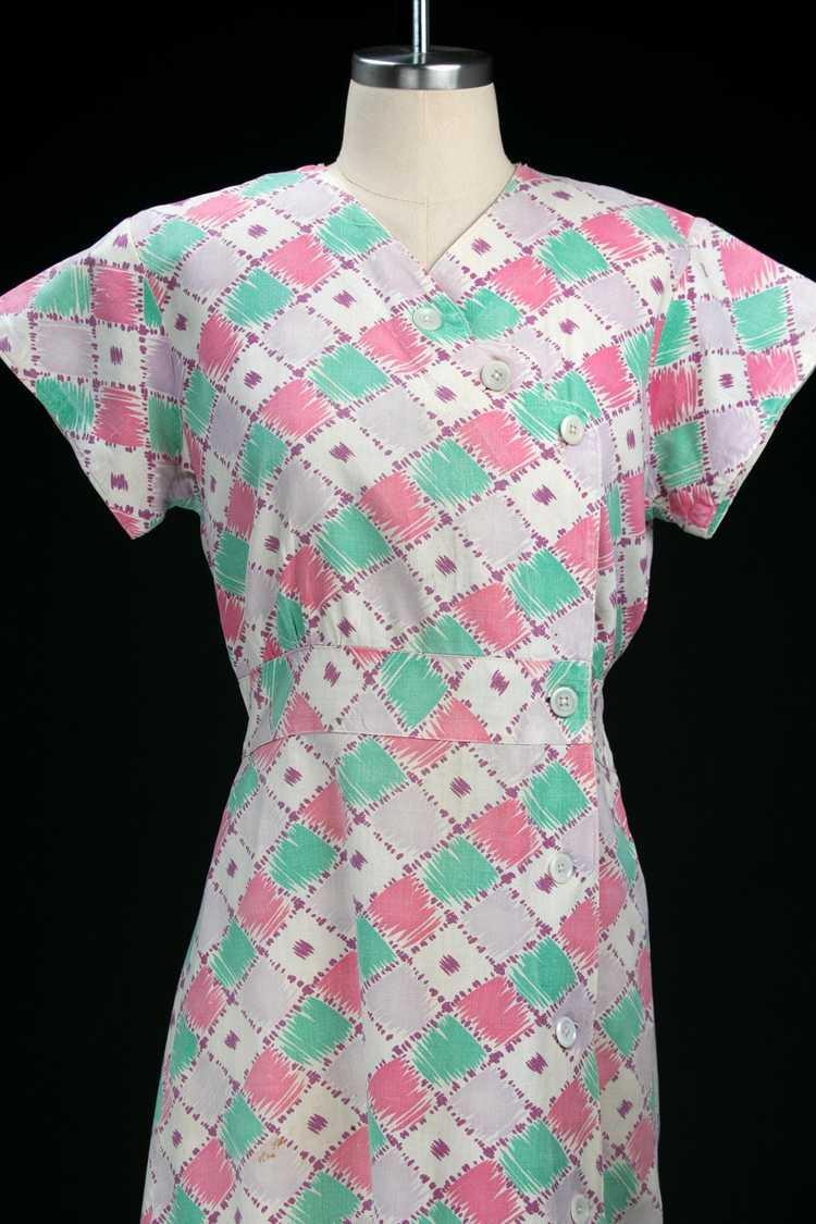 Vintage 1930's Feedsack Dress - image 2