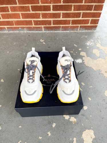 Prada Prada Chunky Block Platform Sneakers size 42