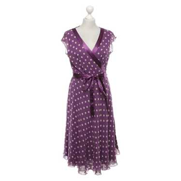 Hobbs Wrap dress with polka dots