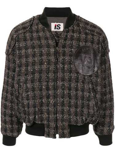 Issey Miyake Pre-Owned 1980's woven checked bomber