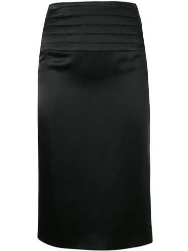 Chanel Pre-Owned 2002's pencil skirt - Black