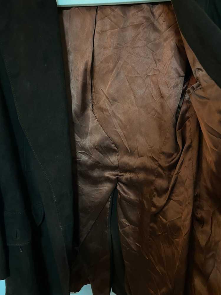 Celine × Vintage VINTAGE Celine Suede Leather Bla… - image 10