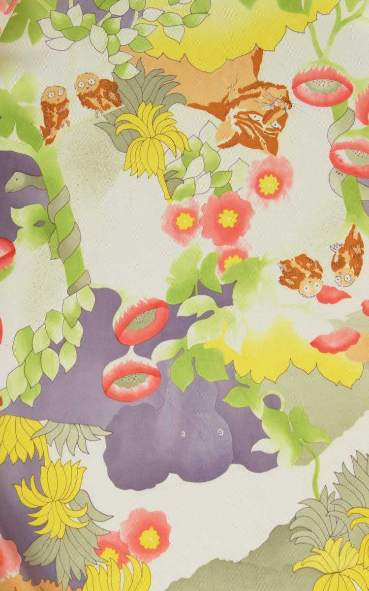 NEW ARRIVAL || 1970s Jungle Animals Novelty Print… - image 7