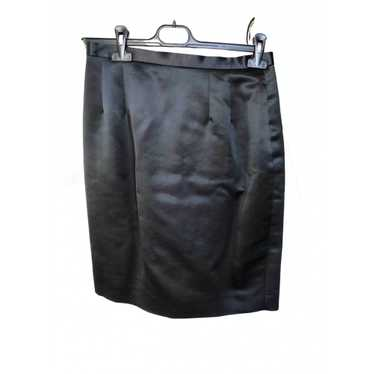 Kenzo Black Silk skirt for Women 42 FR