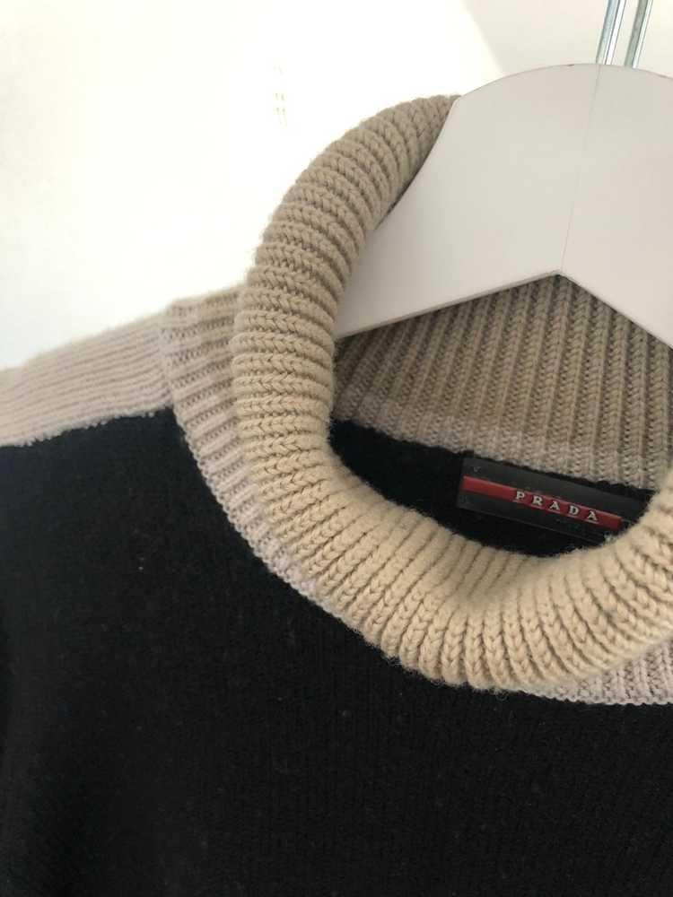 Prada Prada wool polo sweater 90's - image 2