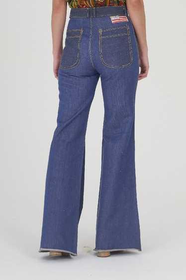 Vintage 70's Flare Indigo Jeans