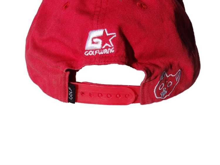 Golf Wang Red Script SnapBack - image 2