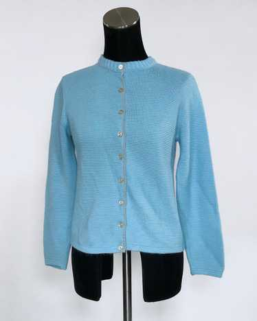 1960s Blue Cardigan by Koret of California - Small