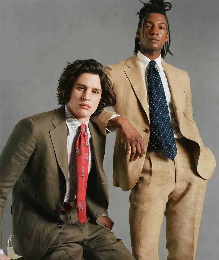 Drakes Drakes Linen Suit - image 11