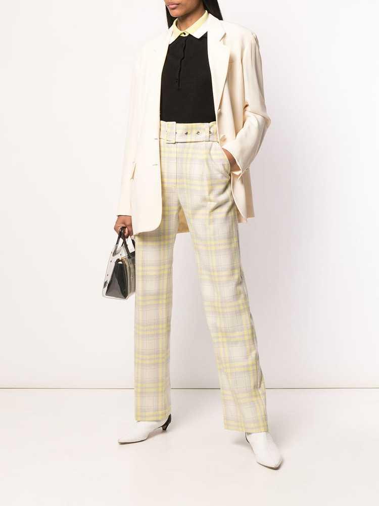 Moschino Pre-Owned 1990's tailored blazer - Neutr… - image 2