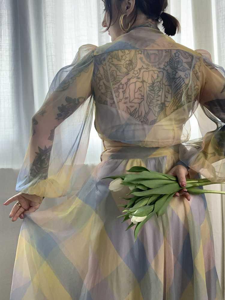 RARE 1940s Ceil Chapman Gown - image 10