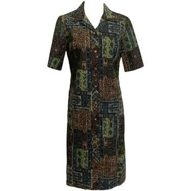 60s Patchwork Shift Dress by Fashion Firsts - image 1