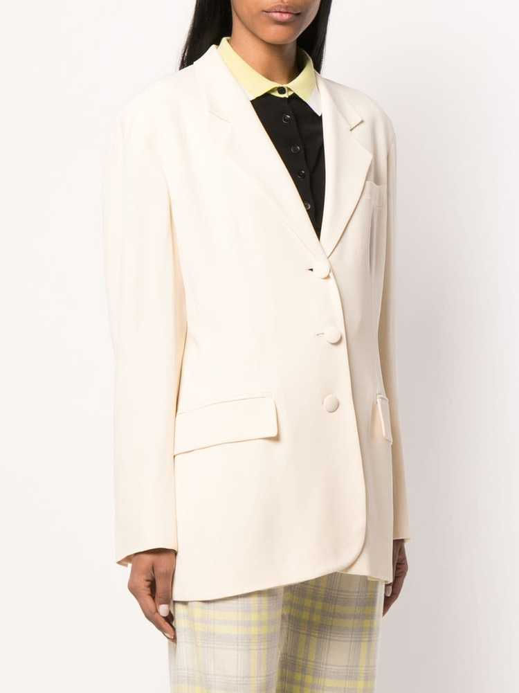 Moschino Pre-Owned 1990's tailored blazer - Neutr… - image 3