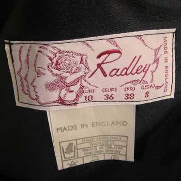 Vintage Radley Polka-dot Prom Evening Dress 1980s
